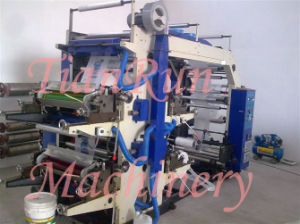 Four Colors PE Plastic Film Printing Machine (YT-41000) pictures & photos
