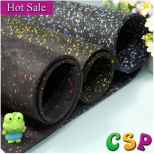 Anti-Slip Rubber Flooring, Anti-Skid Rubber Floor Mat Roll pictures & photos