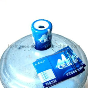 PVC Heat Shrink Label for 5gal Bottle Cap Seal (TXV-017)