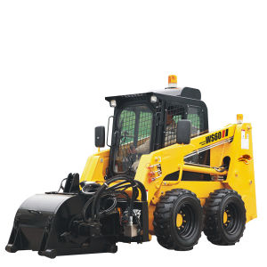 Diesel Engine 60HP Fuwei Ws 60 Wheel Skid Steer Bobcat Loader