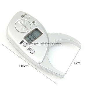 Portable Digital High Quality Display LCD Body Fat Caliper Skin Analyzer pictures & photos