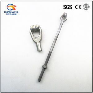 High Quality Forged Pole Line Oval Eye Bolt pictures & photos