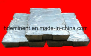 High Pure 99.9% Zinc Ingot/ Zinc Alloy with Quality Test pictures & photos