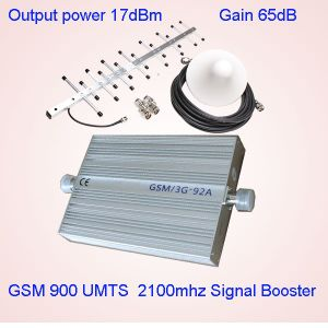 2g 3G Signal Booster Dual Band GSM900 WCDMA UMTS 2100MHz St-92A Signal Amplifier, Cell Phone Signal Repeaters