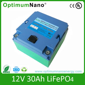 12V 30ah LiFePO4 Lithium Start Battery for EV, Hev, UPS pictures & photos