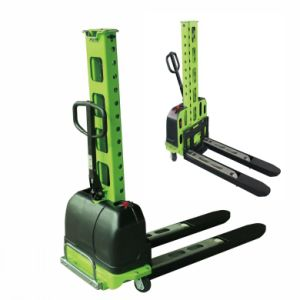 Manhand Self Elevating Power Stacker