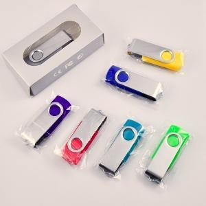 Lighter Sharp Full Memory Swivel USB Flash Drives with Free Logo Printing