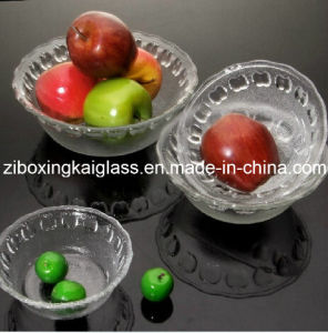 Clear Glass Bowl, Glass Plate, Food Bowl