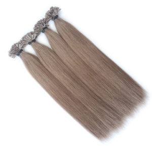 Remy Hair Extensions Blonde Color U-Tip Silky 18inch pictures & photos