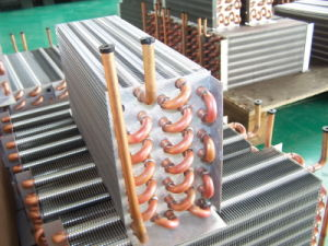 Fin Tube Type Industrial Air Conditioining Unit Heat Exchanger pictures & photos