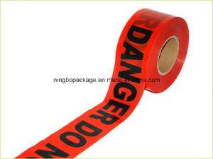 Red PE Plastic Warning Tape with High Quality Hot Sale in USA pictures & photos