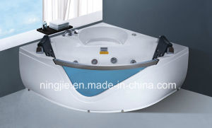 Glasses Acrylic Massage Bathtub Nj-3010 pictures & photos