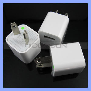 Square Cube Us EU Au 5V 1000mA AC USB Wall Charger for iPhone Samsung pictures & photos