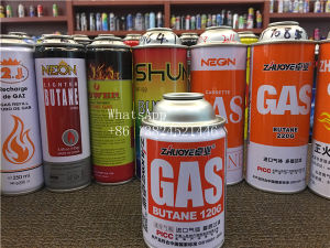 Tinplate Aerosol Can for Lighter Butane Gas pictures & photos