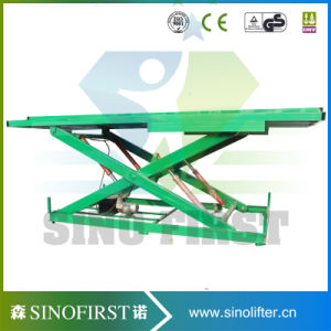 1000kg Stationary Custom Recessed Scissor Lift Workshop pictures & photos