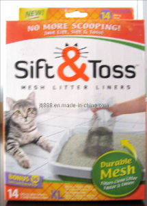 Pet Sift & Toss Litter Liners (TV613) pictures & photos