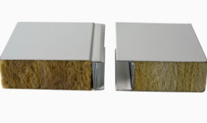 Rock Wool Thermal Insulation Sandwich Board pictures & photos