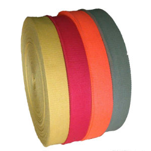 Polyester&Cotton Webbing for Garment Accessory