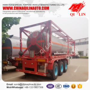 Tri-Axle Dangerous Liquid Transport Tank Semi Trailer pictures & photos