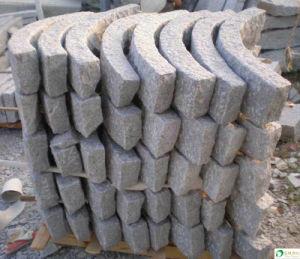 Natural Split Granite Curving Kerbstone