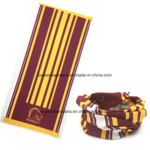 Custom Made Design Printed Microfiber Multifunctional Neck Tube Scarf pictures & photos