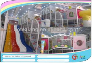 Plastic Indoor Playground 13007