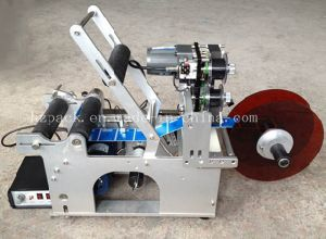 Semi-Automatic Labelling Machine with Date Printer Labeller pictures & photos