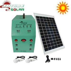 Solar Electricity Generating System for Laptop/Phone Charging