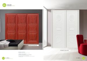 American Style Modern PVC Kitchen Cabinet Door (yg-014) pictures & photos