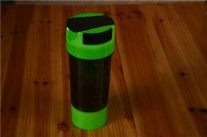 Plastic Blender Shaker Bottle with Metal Ball