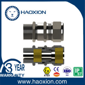 Stainless Steel Explosion Proof Cable Gland with Atex pictures & photos