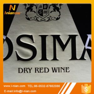 Custom Premium Plastic Film Wine Label pictures & photos