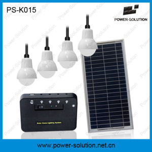 High Quality 5200mAh Solar Lighting System with 4 Bulbs pictures & photos