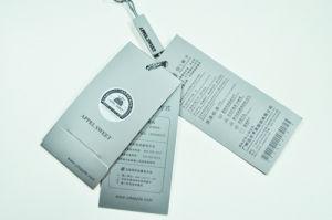 Art Paper Hang Tag with Pin