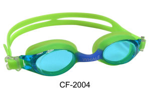 Silicone Swimming Goggles (CF-2000) pictures & photos