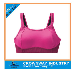 Custom Made Blank Fashionable Sports Bra for Girl pictures & photos