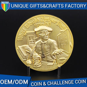 Low Factory Price of 3D Souvenir Metal Coin in China pictures & photos