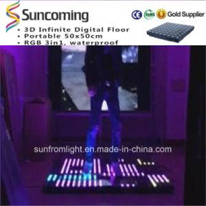 Slim Rechangeable LED Interactive Dance Floor Lighting Wedding Dance Floor pictures & photos