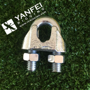 Hot DIP Galvanized Us Type Malleable Wire Rope Clip Clamp pictures & photos