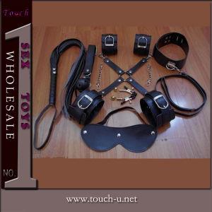 8 Pieces Black Plush Sex Toy for Women (1128A) pictures & photos