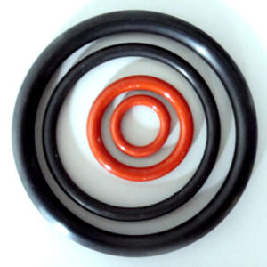 Custom Food Grade Silicone Rubber O-Ring pictures & photos