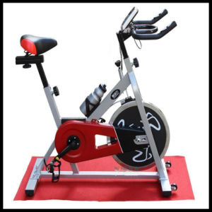Fitness Exercise Spin Bike White Color