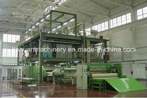 1.6m Triple Beam PP Spunbond Nonwoven Fabric Making Machine pictures & photos