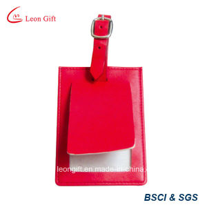 Wholesale PU Leather Luggage Tag Custom pictures & photos