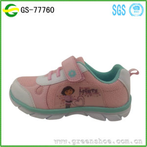 Hot Seller Summer Children Girl Shoes Sport Cartoon Kids Shoes 2017 pictures & photos