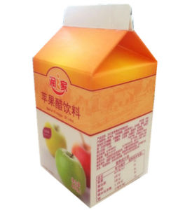 500ml Apple Vinegar Drinks/ Juice Carton with Caps pictures & photos