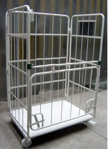 Warehouse Rolling Cage Cart pictures & photos