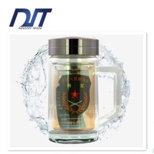 Crystal Glass Bottle Business Office Drinking Bottle Gift pictures & photos