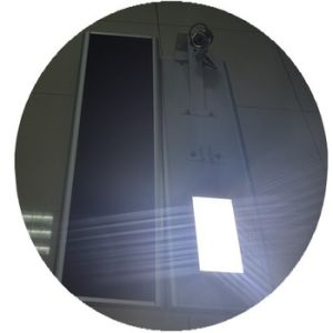 Solar Powerd Outdoor Garden Lights Motion Actived Solar Panel Street Lights pictures & photos