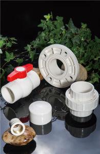 Huasheng Plastic Dn65 Dn80 Dn 100 De125 DIN Standard CPVC One-Piece Flange pictures & photos
